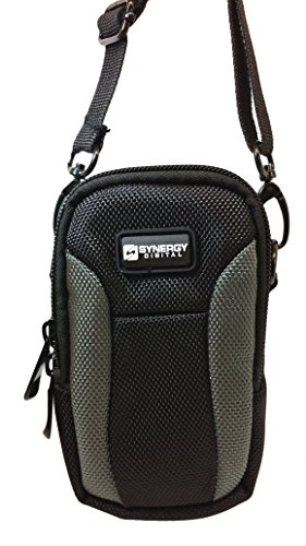 Panasonic Lumix DMC-LX10 Digital Camera Case SDC-23 Point & Shoot Digital Camera Case, Black / Grey