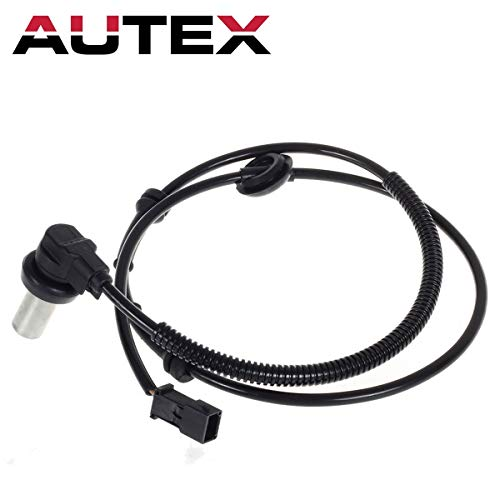 Autex 1pc Front Left or Right Side ABS Wheel Speed Sensor 8D0927803 ALS426 5S10454 SU11907 SS20004-11B1 compatible with 1996 1997 1998 1999 Audi A4 Audi A4 Quattro 1998 1999 Volkswagen Passat