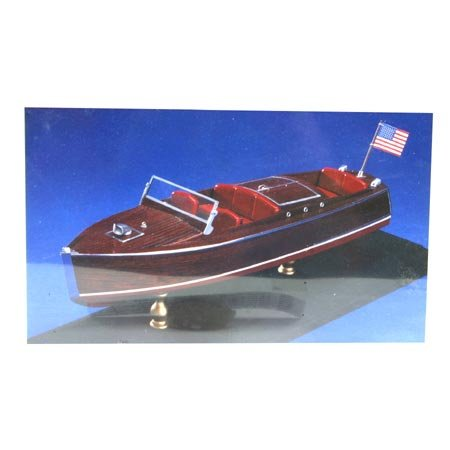 1930 Chris Craft Runabout Wooden Boat Kit by Dumas -