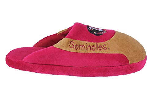Florida Seminoles Mens and Happy Feet Womens Low OFFICIALLY Pro NCAA College State LICENSED Slippers PBUgBxO
