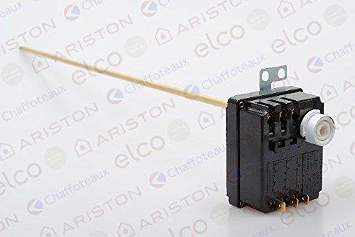 Thermostat à canne L: 450 ref 992162 pour chauffe eau électrique bodner et mann Ariston