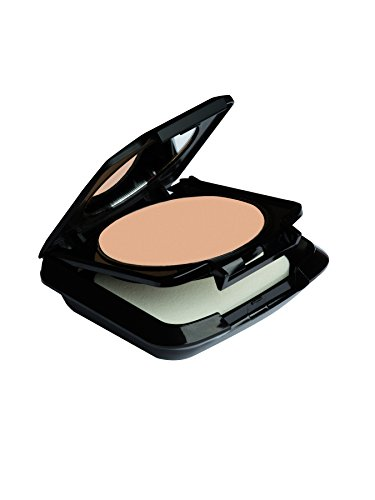 Palladio Dual Wet and Dry Foundation, Ivory Myrrh, Apply Wet for Maximum, Full Coverage or Dry for Light Finishing and Touchups, Minimizes Fine Lines, Helps Prevent Breakouts, Includes Sponge