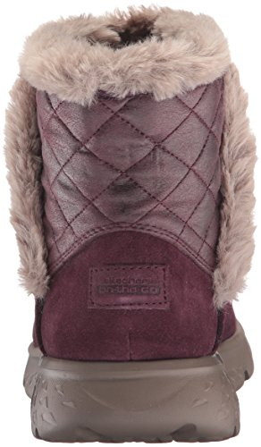 Skechers Performance Donna In Viaggio 400 Cozies Invernale Boot Burgundy
