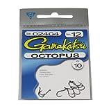 Sportsman Supply Inc. Gancho Gamakatsu Octopus, 10 Unidades por Paquete
