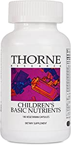 THORNE RESEARCH - Children's Basic Nutrients - 180ct [Health and Beauty]