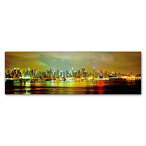 "picture of Trademark Fine Art Panoramic by Preston Hanging Art Piece, 8""x24"""
