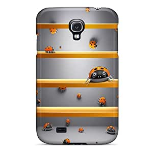 New Fashionable JoyRoom WQW3153fTbS Cover Case Specially Made For Galaxy S4(bug Shelf)