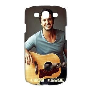 Popular Singer Luke Bryan Hard Plastic Back Protective Case for Samsung Galaxy S3 I9300 FC-4