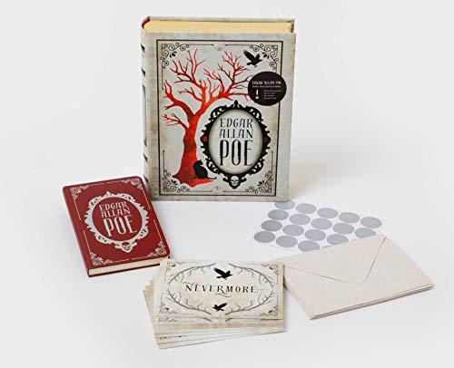 - Edgar Allan Poe Deluxe Note Card Set (With Keepsake Book Box)
