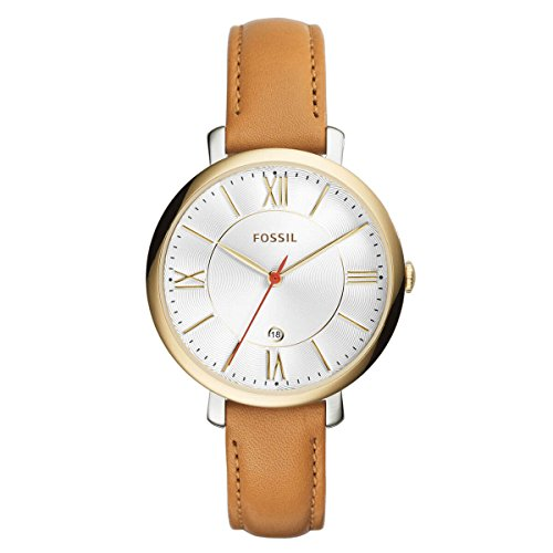 fossil women watches brown dial - 6
