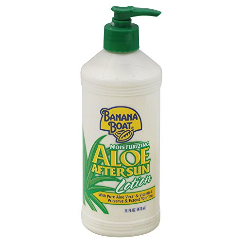 Banana Boat After Sun Lotion, Aloe, Moisturizing 16 oz by Banana Boat