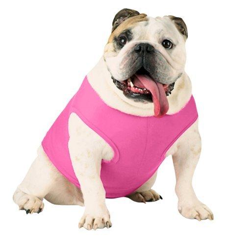 Doggie Skins Baby Rib Tank - Raspberry Sorbet - M by Doggie Skins