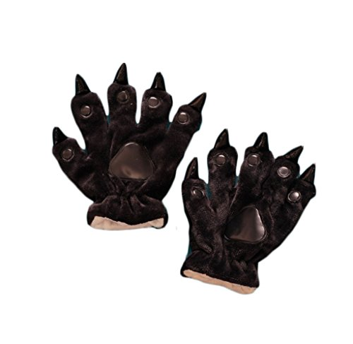 (COCONEEN Unisex Animal Paws Claw Gloves Costume Accessories)