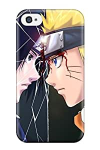 ElsieJM OyIujaO8120gJJKR Case For Iphone 4/4s With Nice Naruto Cartoons Appearance