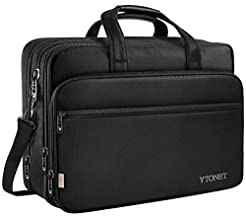 17 inch Laptop Bag, Travel Briefcase wit...