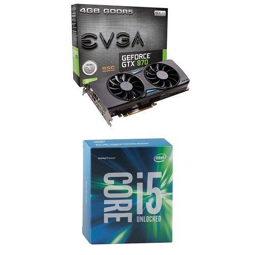 EVGA GeForce GTX 970 4GB SSC Gaming ACX 2.0+ Cooling Grap...