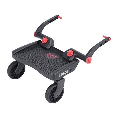 Lascal Buggy Board Mini 3D Red - Plataforma para carrito