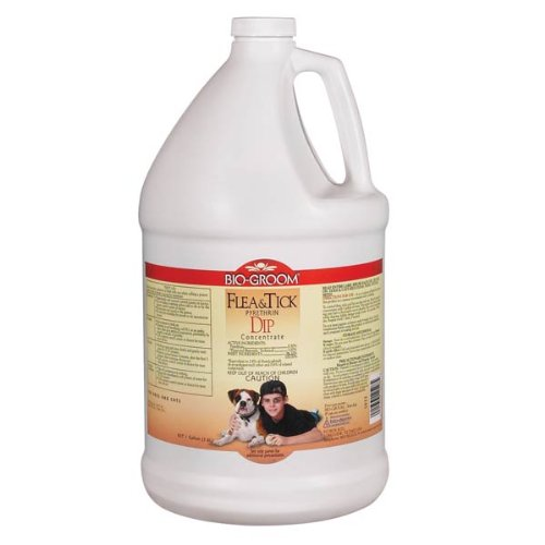 Bio-Groom Flea and Tick Pyrethrin Dip Dog/Cat Concentrate, 1-Gallon by BIO-GROOM