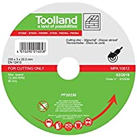 Toolland PF20230, Piedra para Disco de Corte, 230
