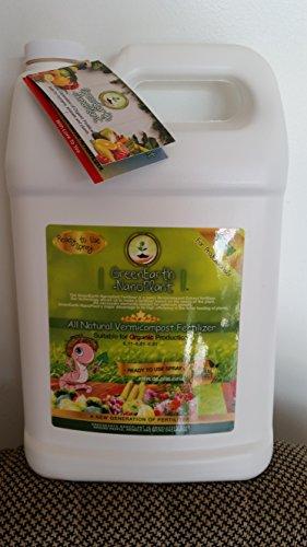 (GreenEarthNanoPlant Organic Liquid Fertilizer 1 gal. Ready to Use)