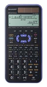 Sharp EL-W506 X-VL - Calculadora científica (4 botones programables, 80 x 168 x 14 mm, solar y a pilas)