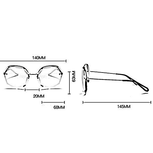 ZHIRONG de Madame Couleur de personnalité par soleil protection voyage solaire Lunettes mode de de définition 06 mode de extérieures lunettes polarisées de haute 02 lunettes de fawfrq
