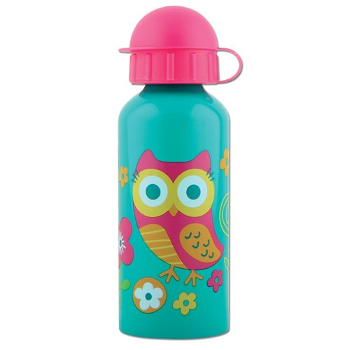 Stephen Joseph Stainless Steel Water Bottle,Owl