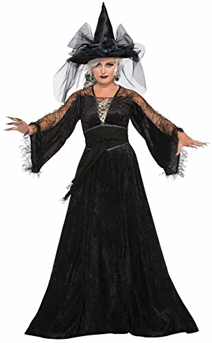 Forum Women's Spellcaster Wizard Costume, Multi, One Size
