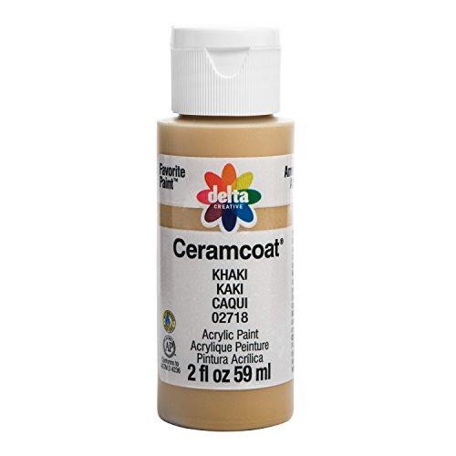 Plaid Delta Ceramcoat Acrylic Paint, 2 oz, Khaki