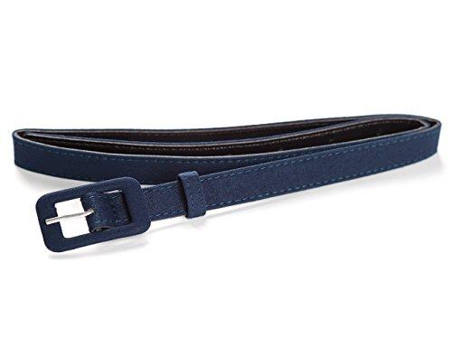MUXXN Womens Belt- Solid Color Basic Belt for Casual Formal Dress or Jeans