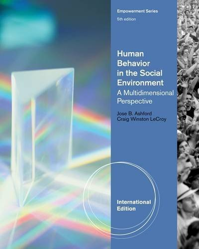 Human Behavior in the Social Environment: A Multidimensional Perspective by Craig Winston LeCroy - Ashford Mall Shopping