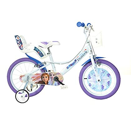 Image of Balance Bikes Dino Bikes 166R-FZ 16-Inch Frozen Bicycle