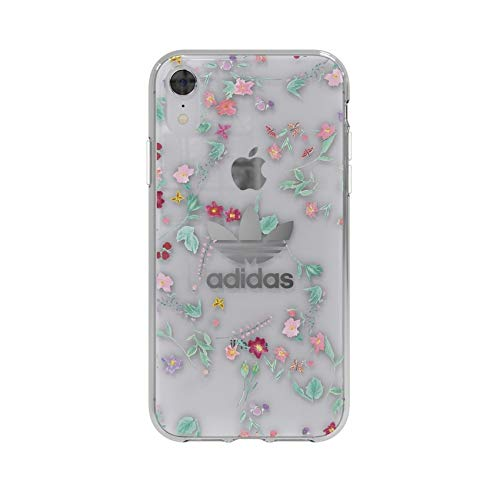 d24be2bb97c Amazon.com  adidas Originals Clear Case Graphic All Over Print iPhone XR -  Colourful  Cell Phones   Accessories