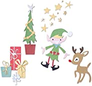 Sizzix Thinlits Die Set 664495 Santa's Workshop by Pete Hughes, 20