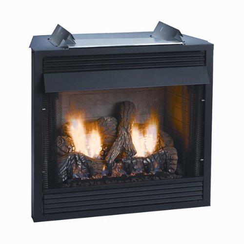Breckenridge Vfd36fb0l Deluxe Vent-free Louvered Gas Firebox - 36