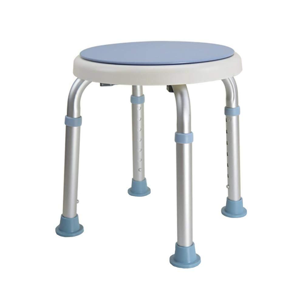 anziani bagno sedia girevole a 360° girevole regolabile in altezza Healthcare arrotondato sgabello da doccia/vasca da bagno per donne incinte e bambini bagno sedia beautygoods