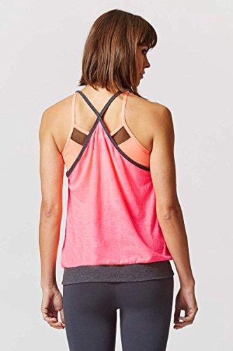TLC Sport - Camiseta sin mangas - Básico - para mujer Rosa