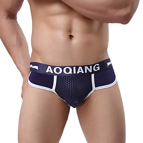 YUGHGH Men's Underwear, Fashion Men's Cotton Boxer Briefs Bulge Pouch Soft Shorts Underpants