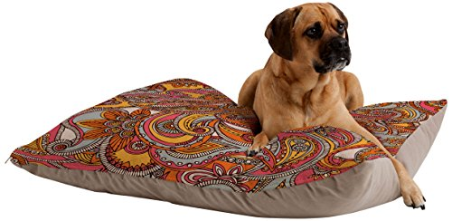 (Deny Designs Valentina Ramos Spring Paisley Pet Bed, 40 by 30-Inch)