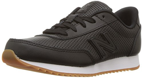 New Balance Boys' 501v1 Ripple Sneaker Black, 7 W US Toddler