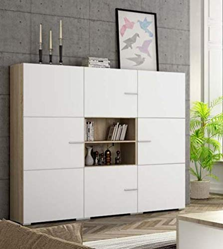 Mueble Aparador, Mueble Ambiente Color Cambrian Blanco ...