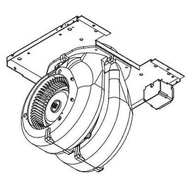 Amazon Com Zephyr Cbi 600b 600 Cfm Internal Blower With 6 Round