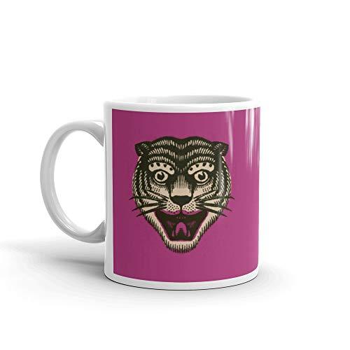 Wildcat Cup for Coffee or Tea Funny Cute Mug Ceramic 11 Oz