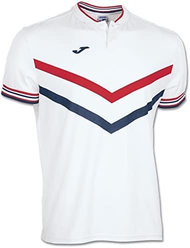 Joma mag Sportswear Polo de Manga Camiseta Mitad Hombres Tenis ...