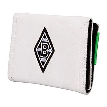 Borussia M/önchengladbach Ledergeldb/örse Portemonnaie Geldb/örse anthrazit Geldbeutel