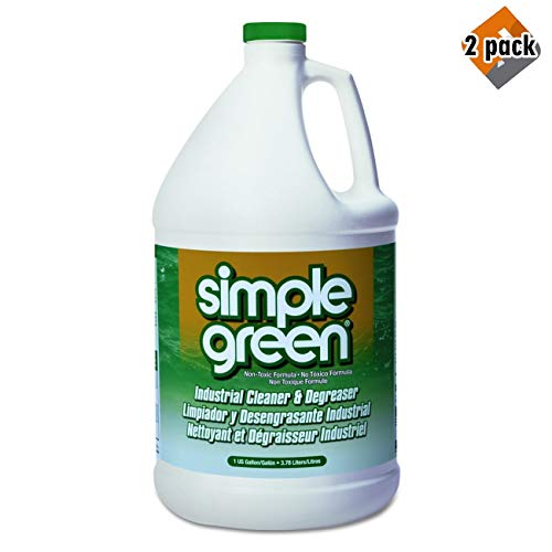 [해외]Simple Green 13005CT Industrial Cleaner and Degreaser 2개들이 팩 / Industrial Cleaner and Degreaser, Concentrated, 1 gal Bottle