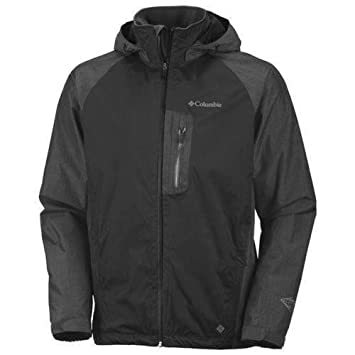 Columbia rain tech jacket