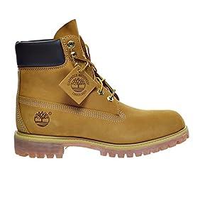 Timberland 6 Inch Premium Men's Boots Wheat Nubuck tb010061