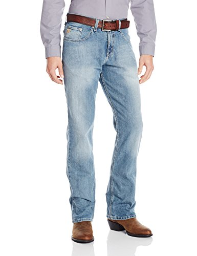 Cinch Men's Dooley Relaxed Fit Jean,  Medium Stone Wash, 32W x 32L