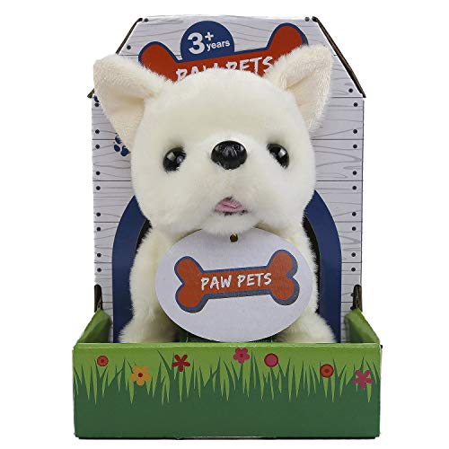 Rowan Movers  amp; Shakers Chihuahua Plush Soft Dog Toy  White